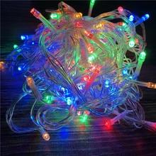 20M 200 LEDs 110V 220V led string light colorful holiday lighting Christmas/Wedding/Party luces decoracion Lights lustre