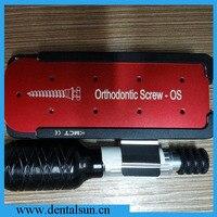 Korea Original MCT MOS 01 Orthodontic Screw Kit for Elastic band and Wire/Dental Screw