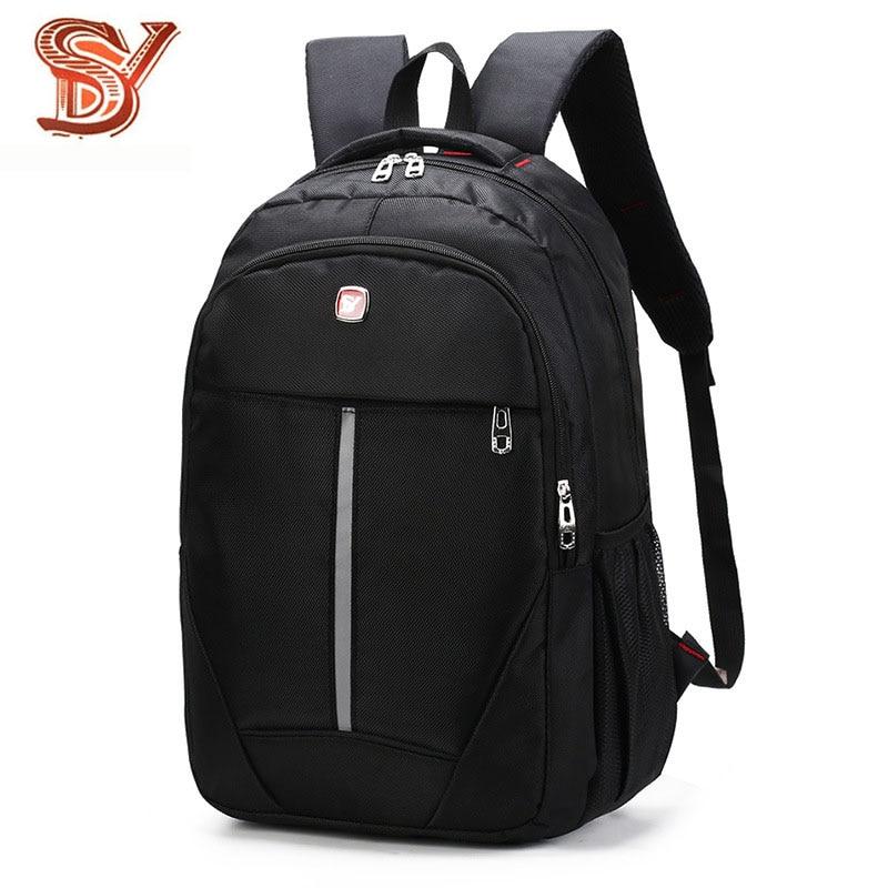 Men's Waterproof Laptop Backpack Men Business Oxford Backpacks For Teenage Travel Bags Multifunction Rucksack Male Sac A Dos