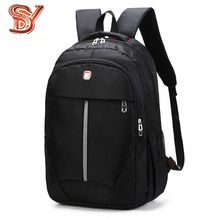 цена на Men's Waterproof Laptop Backpack Men Business Oxford Backpacks for Teenage Travel Bags Multifunction Rucksack Male Sac A Dos