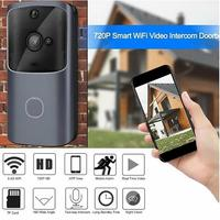 Wireless WiFi Doorbell Video Phone Door Visual Ring Intercom Home Secure Easy to install, no wiring required.
