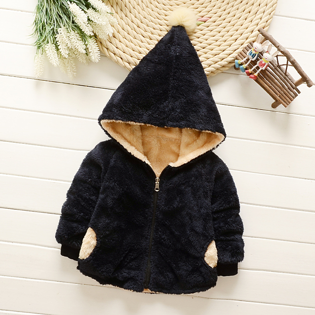 6 months baby girls put baby autumn winter coat 0-1-2-3 - year - old half male 7 windbreaker 5 spring and autumn winter coats