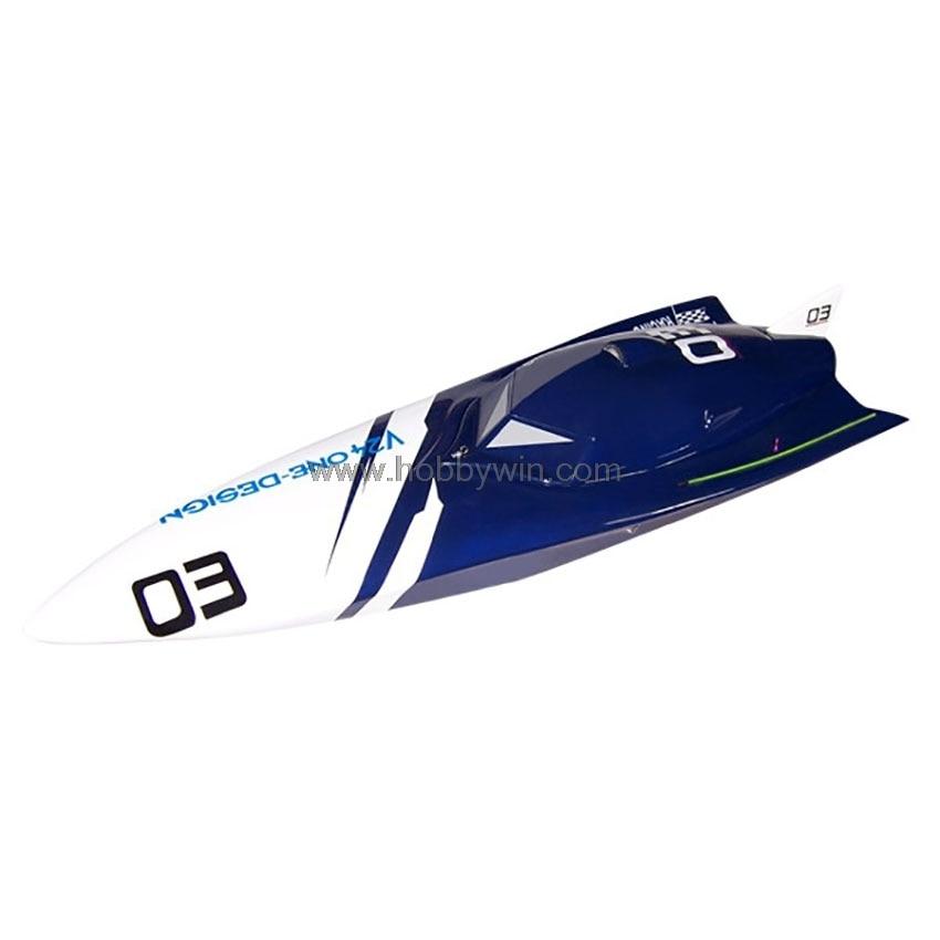 Bat Power 600 Electric Ship Brushless Motor RC Racing Speed Boat