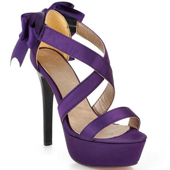 Popular Purple Heels Shoes-Buy Cheap Purple Heels Shoes lots from ...