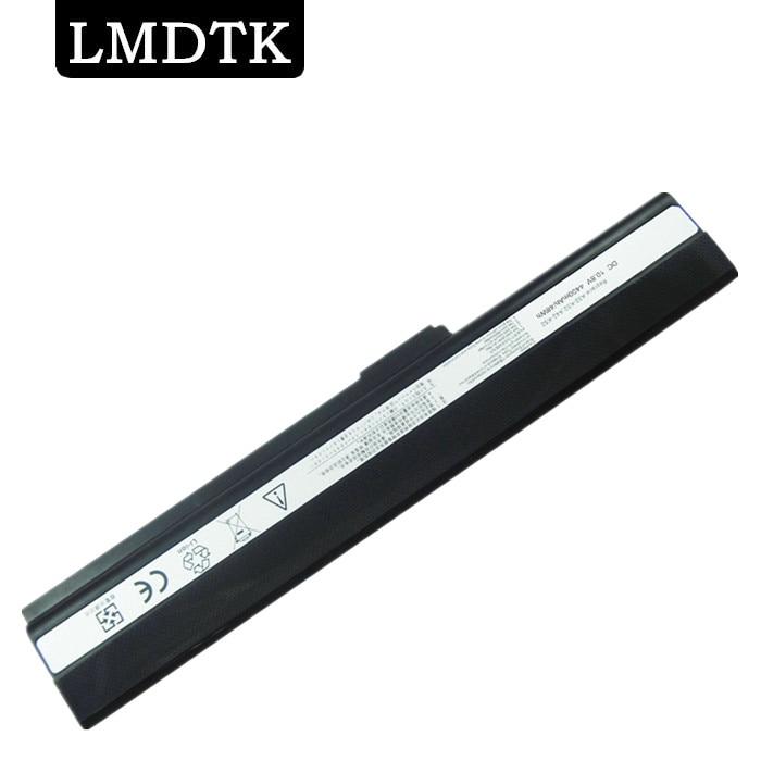 LMDTK Nueva batería de portátil para Asus A52 A52J A52F A52JB A52JK A52JR K42 K42JB K42JK K52F K52J A31-K52 A32-K52 A41-K52 A42-K52