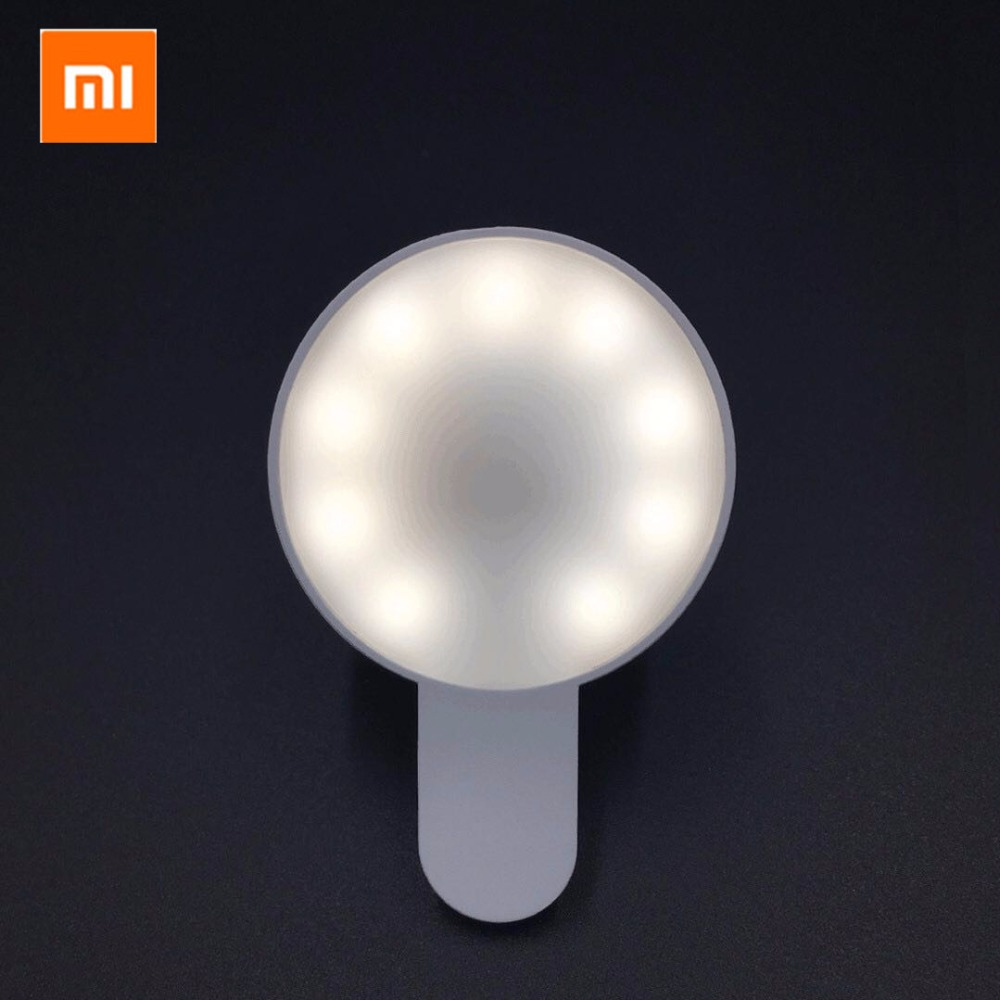 Original xiaomi mijia yuemi Beauty fill light Led Uniform fill light / three dimming / minimalist design For xiaomi smart home