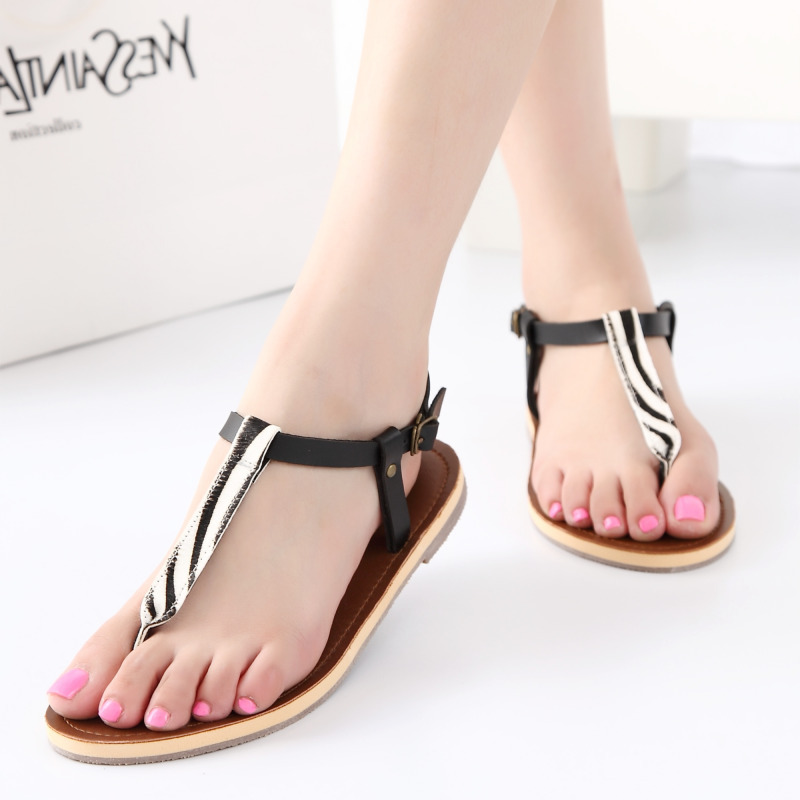 0d6579e3ce9d97 Fashion horse hair gladiator sandals women summer style beach shoes designer  flat sandals ladies 2colors sandalias mujer-in Women s Sandals from Shoes  on ...