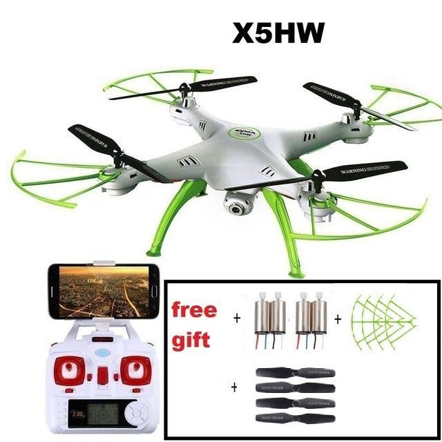 Quoadcopter YUKALA X5HW Originais 2.4G RC com Câmera HD FPV 2.4G 4CH rc zangão