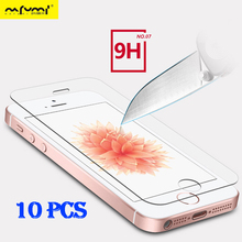 2.5D glass on for iphone 5s Tempered glass protective glass for iphone 5s se 5 film for iphone 5s 5c 5 tempered toughened glass electroplating tempered glass mirror screen guard film for iphone 5 5s 5c
