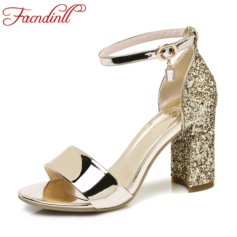 FACNDINLL gladiator women sandals shoes new sexy gold silver high heels peep toe shoes woman dress party wedding summer shoes facndinll new genuine leather women gladiator sandals fashion sexy high heels peep toe shoes woman dress party office lady shoes