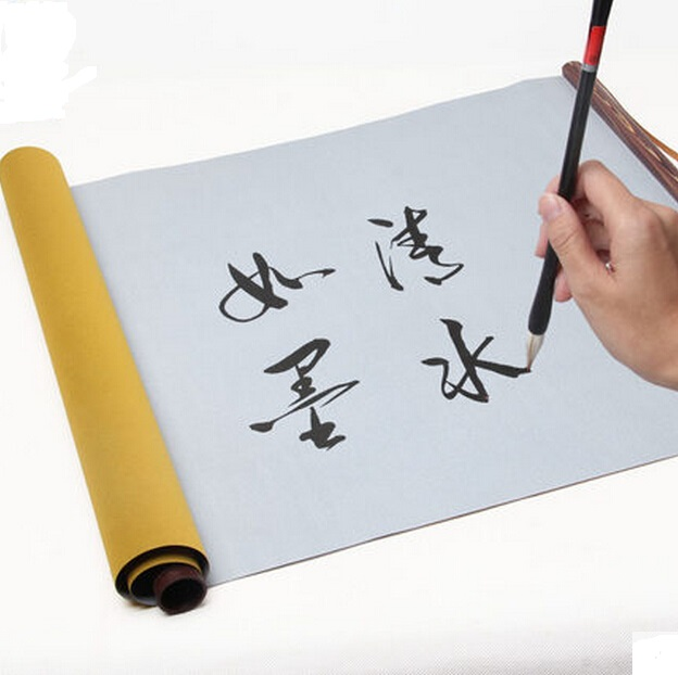43*70cm blank reel Chinese calligraphy practice water write cloth ...