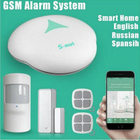 (1 Set) S3 Wireless PSTN Alarm system with WIFI Function support APP Control Home security personal defense Burglar alarm 433mhz