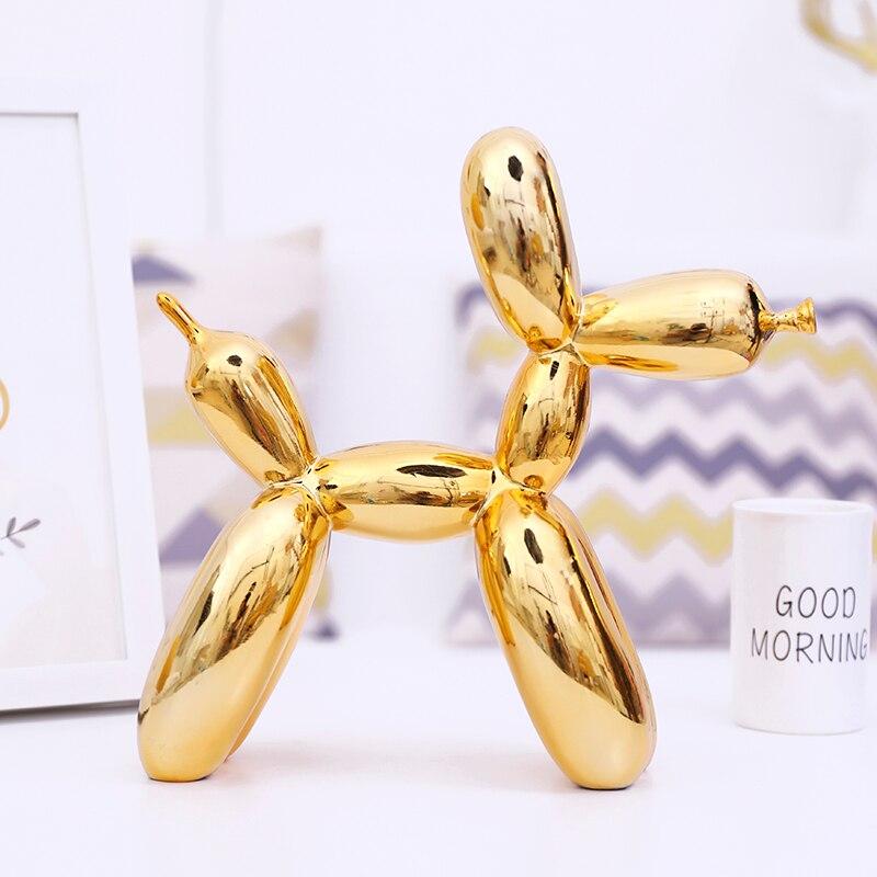 Jeff Koons Rabbit Cute Animals Resin Sculpture Wedding Decor Balloon Rabbit