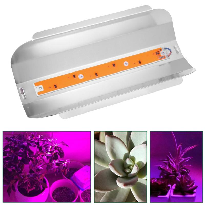 50WFull Spectrum Led Grow Light Plant Flower Vegetable Growing Lights Phyto Lamp Waterproof Indoor Greenhouse Hydroponics System