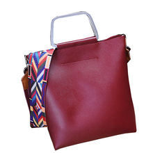 Famous Designer Brand Composite Bags For Women/Leather Handbags/Messenger Bags/Tote Colorful Ribbon Shoulder Bag/Bolsas Feminina