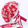 2016 new Korean bride holding flowers wedding bouquet married pearls wedding studio props handmade artificial flowers