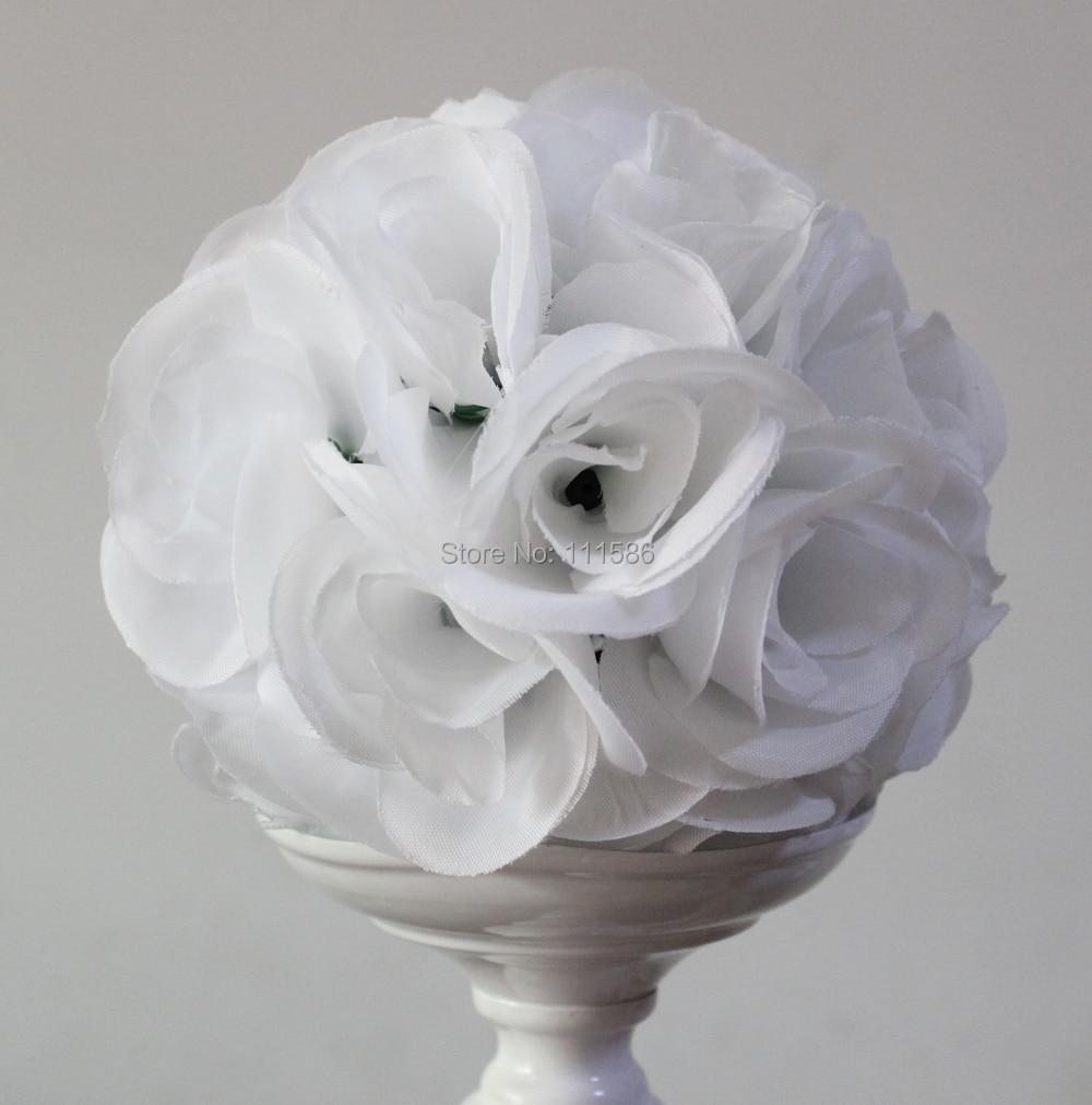 SPR 10pcs / lot 22colors 선택할 수 있습니다 - 뜨거운 판매! 결혼식 공 플라워 꽃 장식 공 15cm 결혼 결혼식 꽃 공 키스