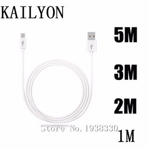 Кабель Micro USB 1 м, 2 м, 3 м, 5 м, провод для зарядки и передачи данных для Xiaomi Redmi 6 pro, 6A, 5 Plus, 4A, 3S, Note 4, 4X, 3 Pro, 5A
