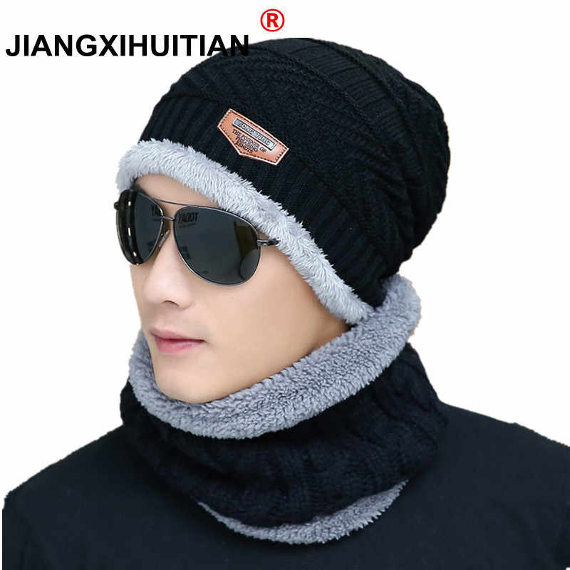 215824f8ed222 2019 Hot Winter Hats Skullies Beanies Hat Winter Beanies For Men Women Wool  Scarf Caps Balaclava