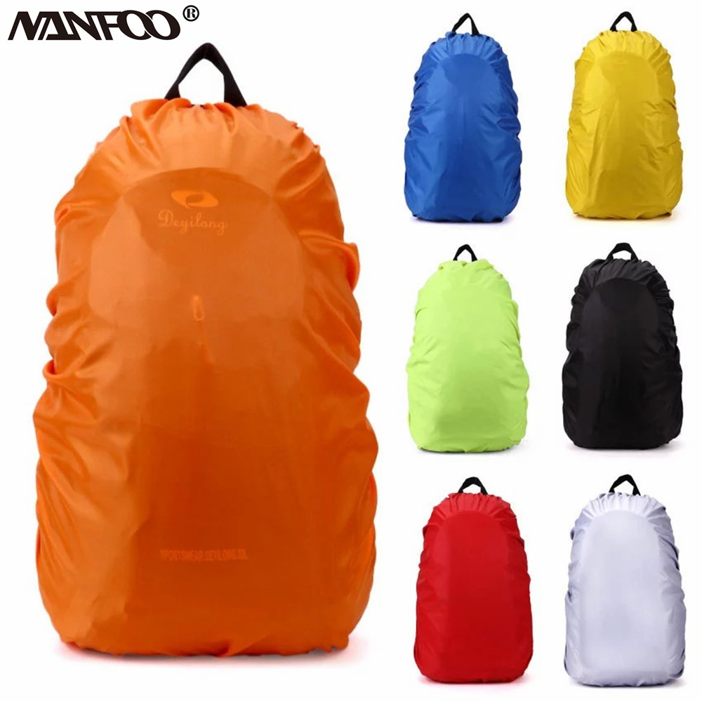 Cycling Traveling Outdoor Activities Rainproof Protector Pack Covers For Camping Waterproof Backpack Rain Cover Ultralight Water Resistant Stored Bag Suitable for 30-40L Backpack Hiking Climbing