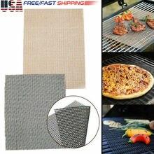 US Grill коврик решетка для барбекю коврик антипригарный тефлон для приготовления пищи лист лайнер рыбные сетки
