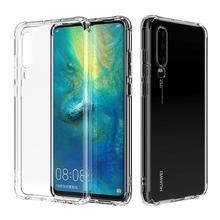 Anti Scratch Shock Absorption High Transparent TPU Phone Case with Protective For Huawei P30 Pro Clear