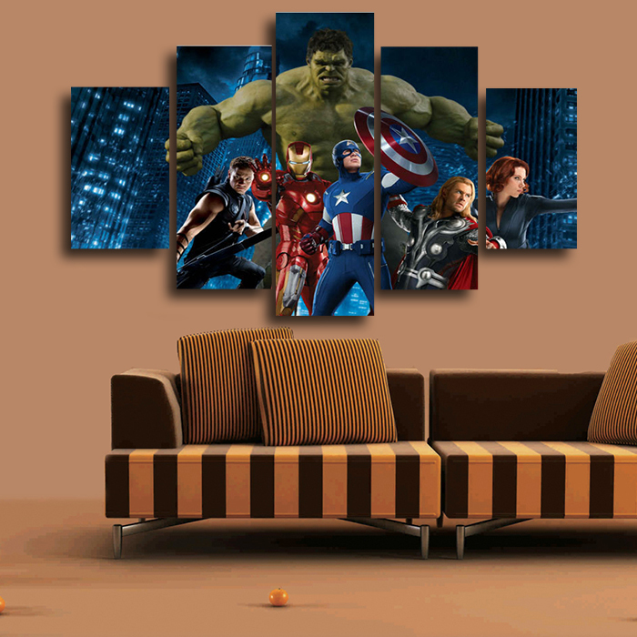 Vente en gros avengers cadres d 39 excellente qualit de for Image encadree decoration