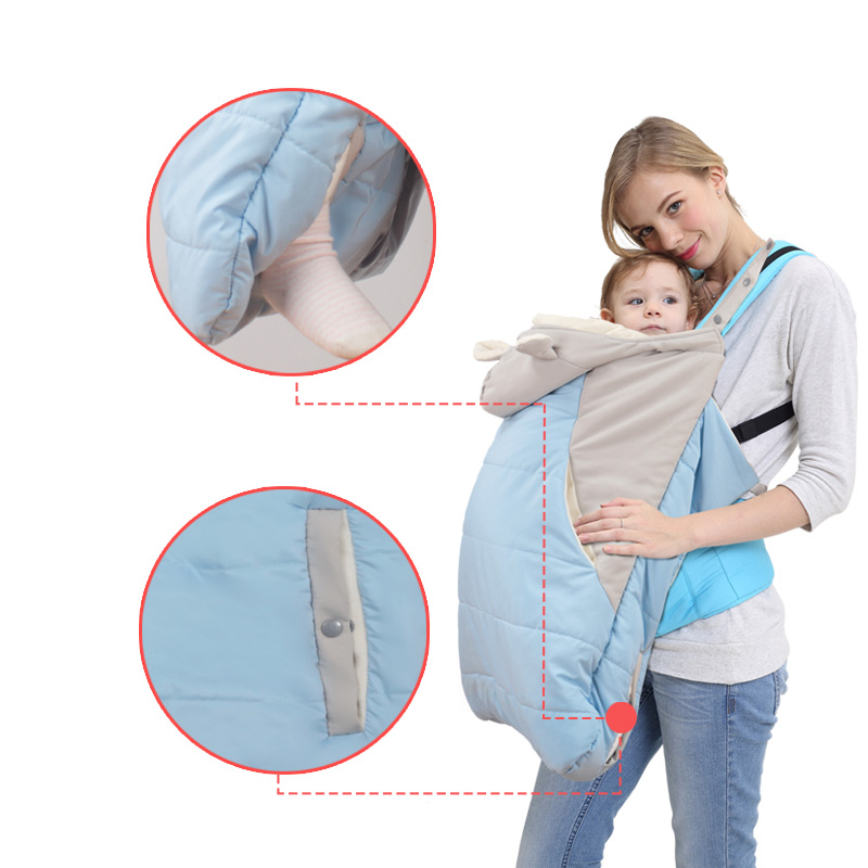 Newborn Backpack Baby Carrier Cloak Warm Cape Cloak Winter Cover Rain Snow Proof Out Necessary Carry Outdoor Autumn Winter