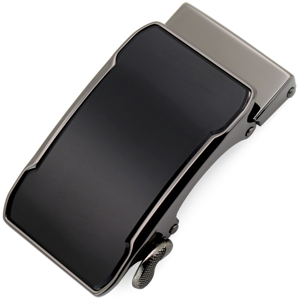 Inner Through Automatic Buckle Men's Business Alloy Automatic Buckle Unique Belt Buckles For 3.5cm Ratchet Belt CE55-02568
