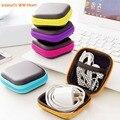 1 unid bolsa de almacenamiento caso para auriculares EVA auriculares caso contenedor Cable auriculares caja de almacenamiento de bolsa de envío de la gota #20