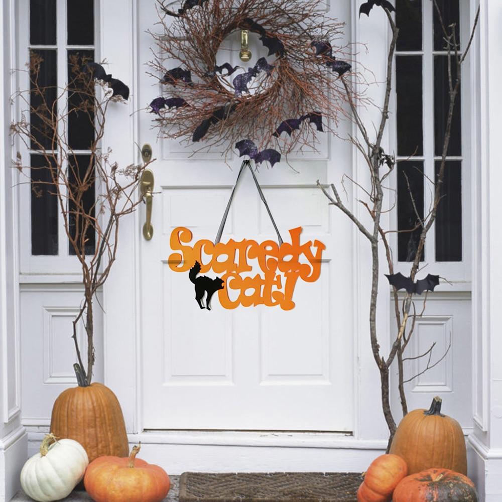 Halloween Decoration Happy Halloween Party Hanging Door