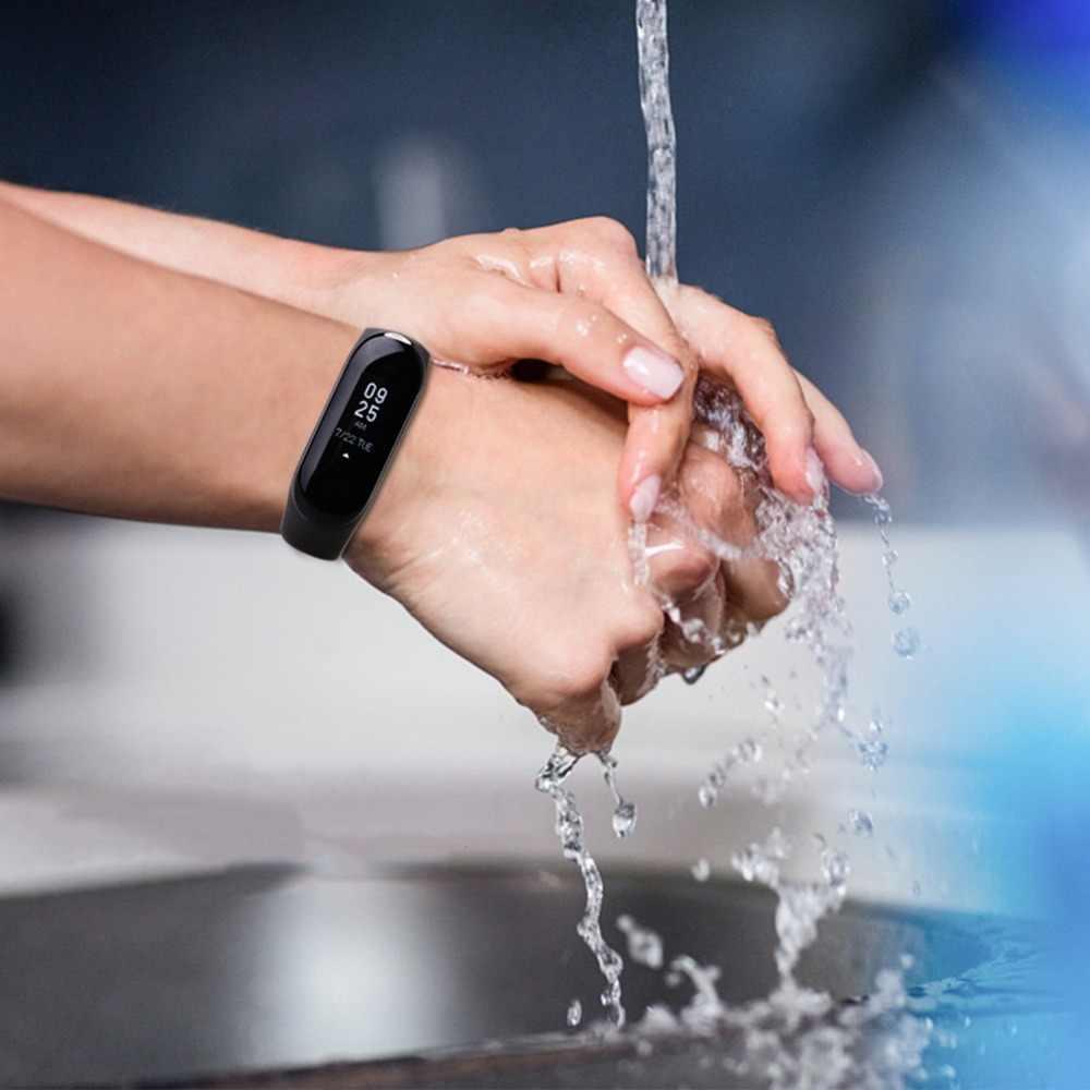Correa de silicona para Xiaomi Mi Band 4, repuesto de correa de silicona para reloj inteligente Xiaomi Mi Band 4, accesorios para pulsera inteligente Mi Band 4