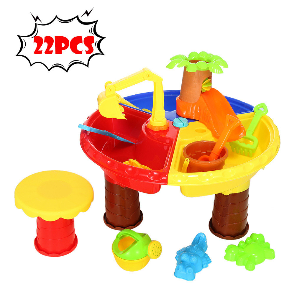 New Children Baby Beach Toys Set Castle Barrel Boys Girls Play Sand Tools Shovel Digging Sand Hourglass Toy Atv Kids Gifts G01 Toys & Hobbies Beach/sand Toys