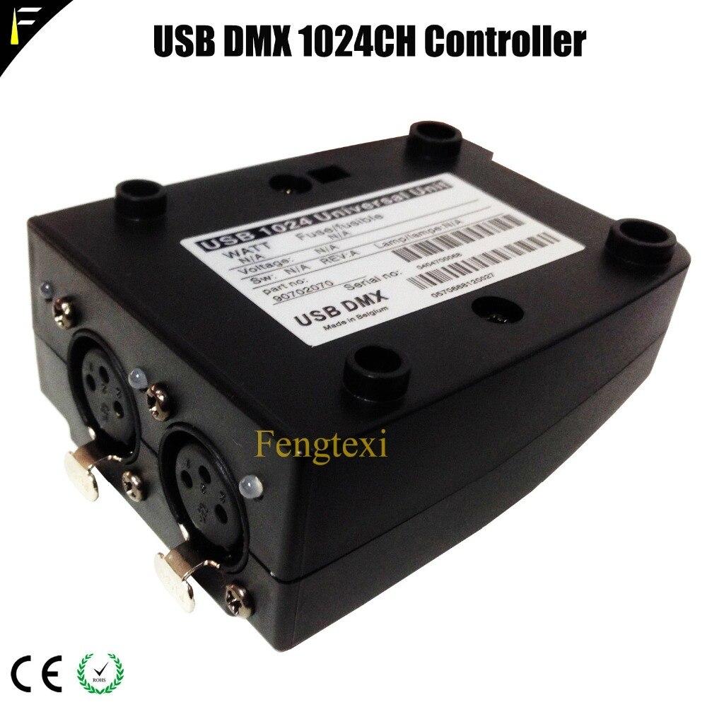 Luz profissional jockey transferência usb dmx 512 interface controlador de computador dmx 1024 console luz dispositivo elétrico construir martin lightjockey - 4