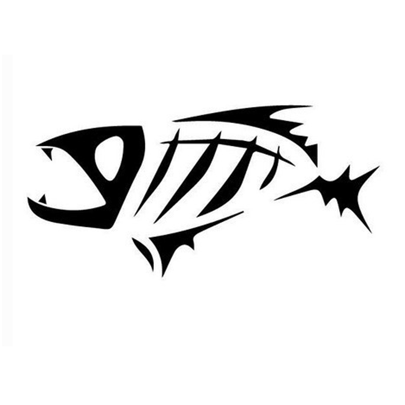 Popular Tribal Fish DecalBuy Cheap Tribal Fish Decal Lots From - Vinyl fish decals for boats