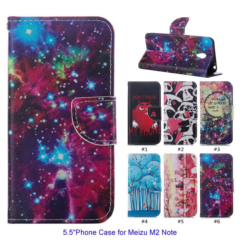 Новое Прибытие 5.5 &#171;телефон Сумка Чехол для Meizu <font><b>Note</b></font> <font><b>2</b></font> Бумажник PU Кожаный Чехол Стенд Защитный Чехол Shell Coque Магнитного