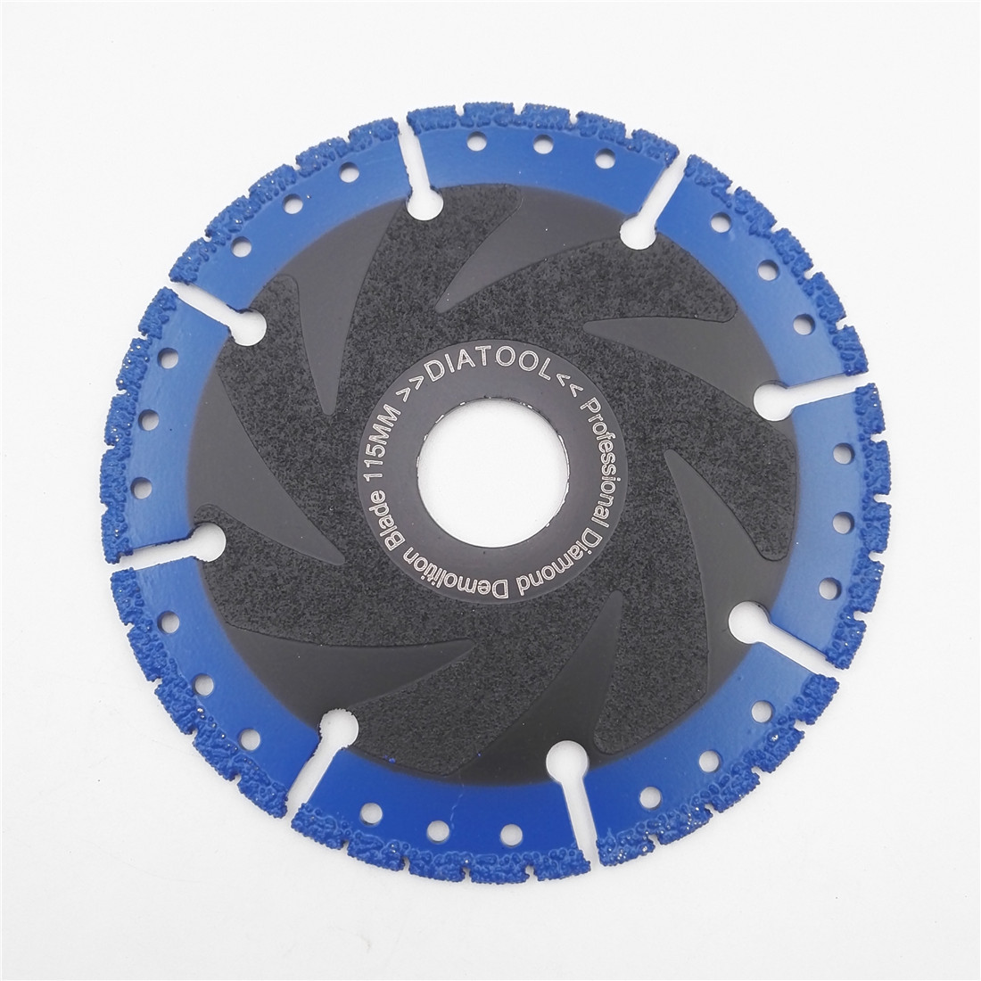 DIATOOL 1 stück Vakuum Gelötete Diamant klinge trennscheibe für multi Zweck Gusseisen Rebar Aluminium rettungs Diamant rad sah klinge