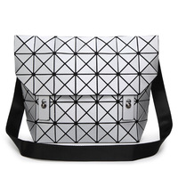 2018 Brand Japan Geometric Women Messenger Bags Luxury Diamond Matte BAO Women's Handbags Female Designer Book bag for school