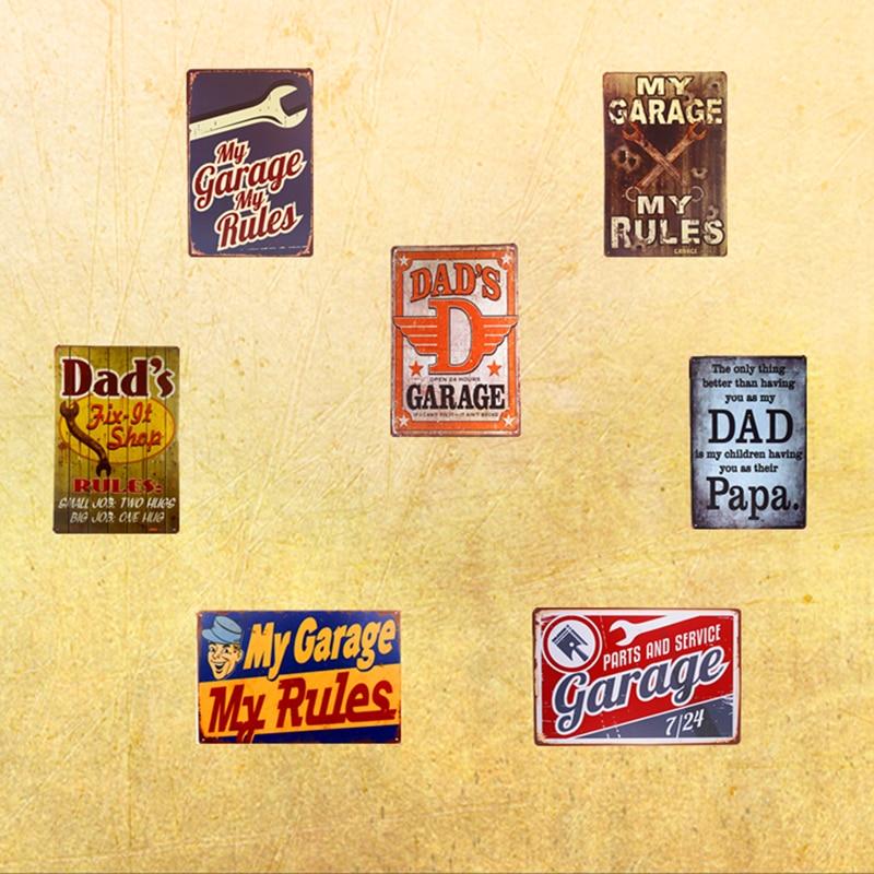 Man Cave Bar Pub Home Wall Decorations Plaque METAL TIN SIGN POSTER ...