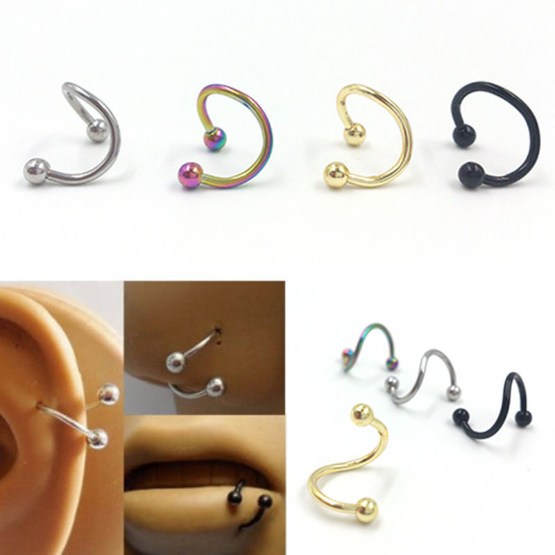 Unique piercing reviews online shopping unique piercing for Types of body jewelry rings