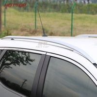 FIT For Nissan Qashqai 2016 2017Aluminum Alloy Accessories Luggage Carrier Bar Roof Rails Rack Bars