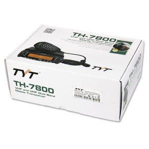 Image 5 - 2018 הגרסה הכי חדש 50W מלא דופלקס צלב חזור TYT TH7800 Dual Band רדיו תחנת עם כבל ותוכנה