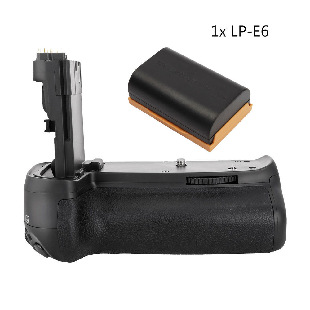 MeiKe BG-E14 MK-70D Vertical Battery Grip Holder For Canon EOS 70D 80D Camera + LP-E6 meike mk 70d vertical battery grip holder with 2pcs lp e6 batteries for canon eos 70d camera replace as bg e14