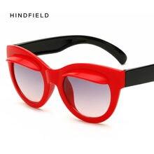 Hindfield 8 Couleurs Enfants lunettes de Soleil Mode De Beau Dessin Animé  Cat Eye Enfants Bébé Soleil Lunettes En Plastique Cadr. 306fcb39848c