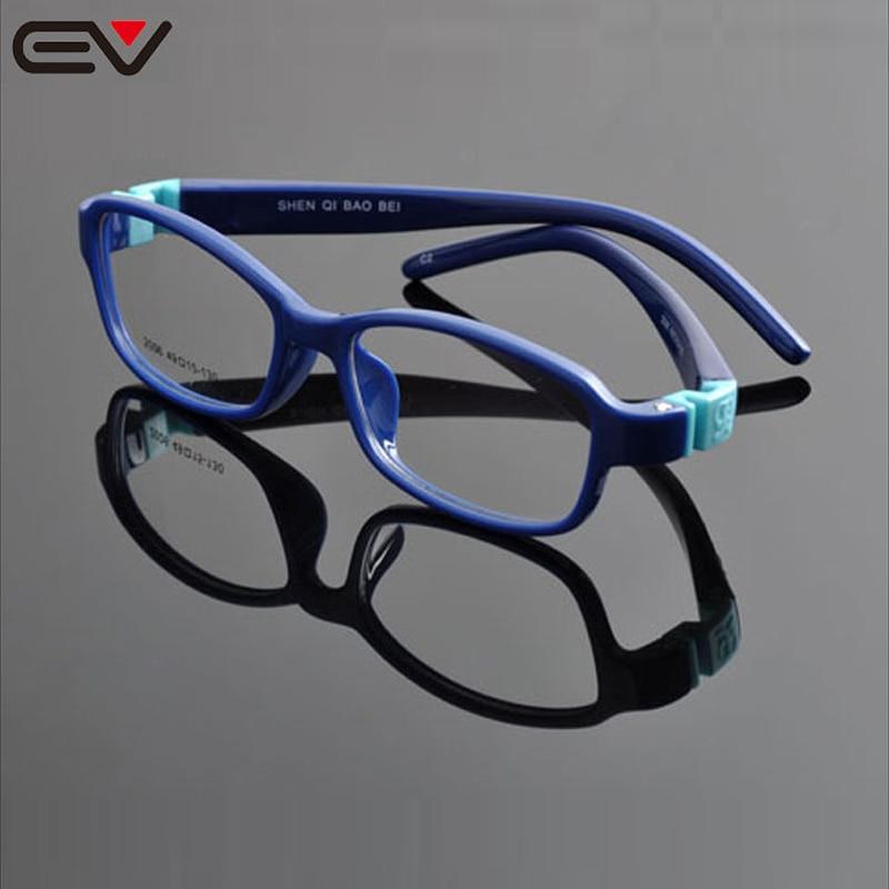 Visokokakovostni TR90 Silikonski okvir zaščitni za otroke Oči Otroški optični okvir Armacao de oculos infantil lentes ninos EV0904