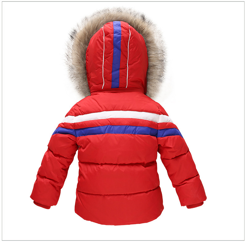 0e9d62b752b4 Kids Boys   Girls Snowsuit Winter Brand Clothes Sets Baby Ski Suit ...