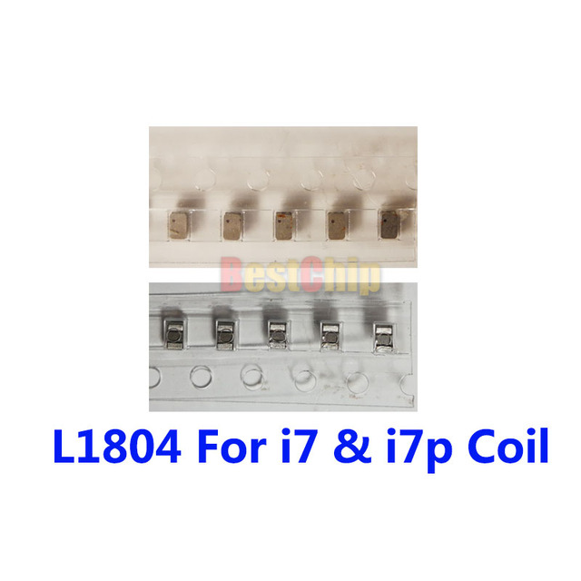 BestChip 20pcs/lot L1804 L1801 For iphone 7 7plus Coil IC Chip on motherboard