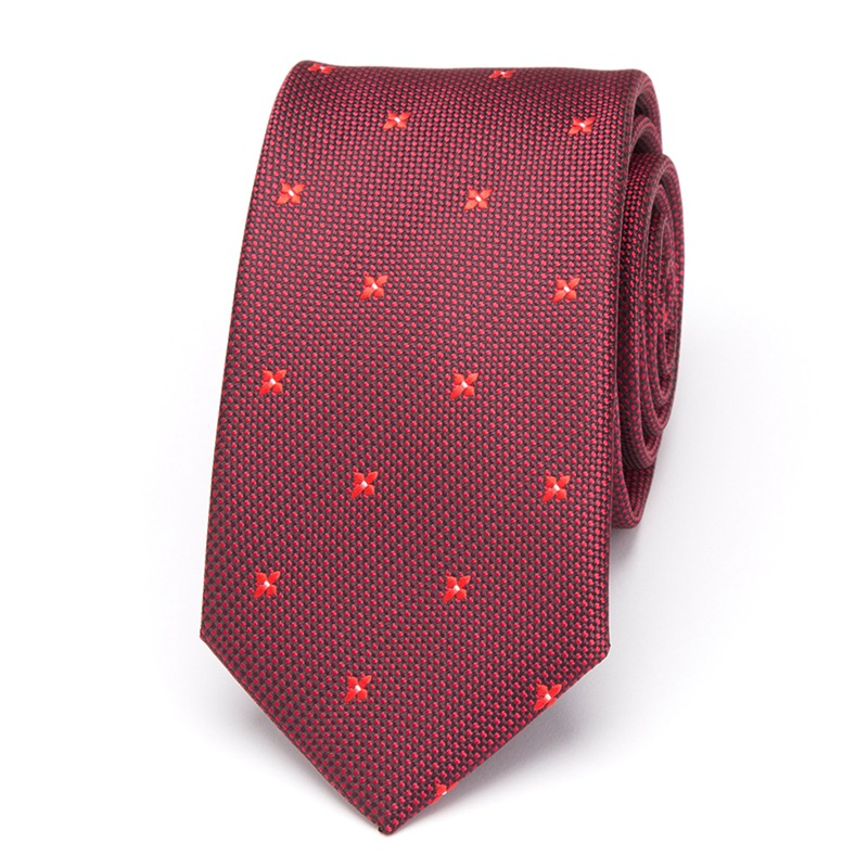 Men Ties Luxury Wedding Fashion Gift 6cm Neckties Gravata Tie For Mens Business Dress Red Bowtie