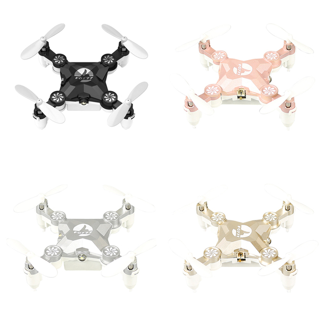 FQ777 FQ11 With Foldable Arm 3D Mini 2.4G 4CH 6 Axis Headless Mode RC Quadcopter RTF Black, Rose Gold, Silver,Gold