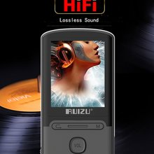 2017 Newest Original RUIZU X11 MP3 Player 8GB 1.8 inch ScreenPortable Support SD Card and FM Radio Voice Recording Ebook
